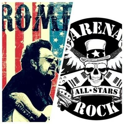 Romero & Arena Rock All-Stars – Nov 9 2019 – 7:30pm