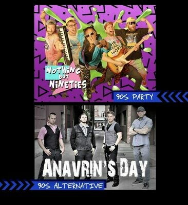 90s Night with Anavrin's Day & Nothing But Nineties – Jan 18 2020 – 7:30pm