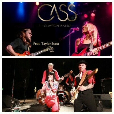 Cass Clayton Band & Kerry Pastine and the Crime Scene – Jan 25 2020 – 7:30pm