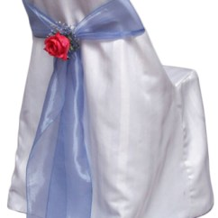 Folding Chair Sashes Small Massage Covers Satin Stripe