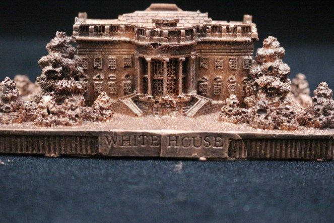 Custom Chocolate White House  in Gift Box (Edible Copper)