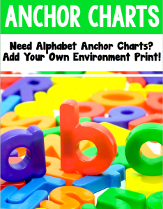 Phonics anchor charts add your own environmental print also rh theletteredclassroom