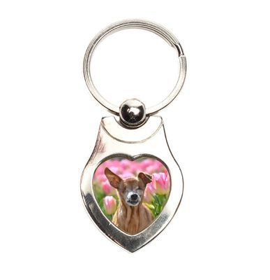 Keychain Little Belle 'Tulips'