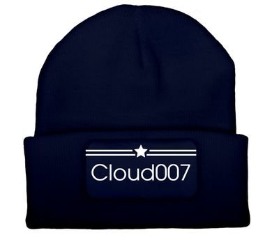 Hat Cloud007 Blue