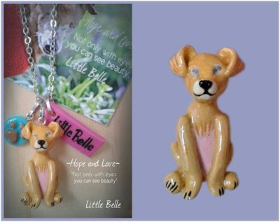 Little Belle Necklace 'Hope and Love'