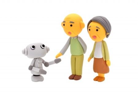 ロボット、認知症