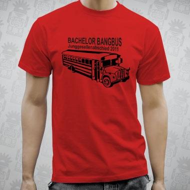drbamboo Bachelor Bangbus tshirt  Junggesellenabschied