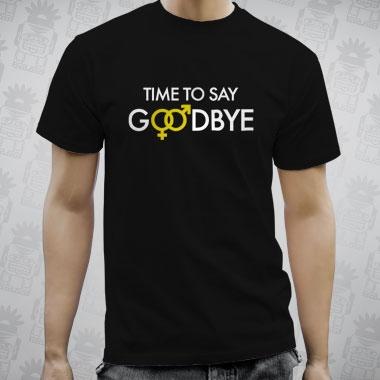 drbamboo time to say goodbye tshirt  Junggesellenabschied  Junggesellinnenabschied tshirt  jga