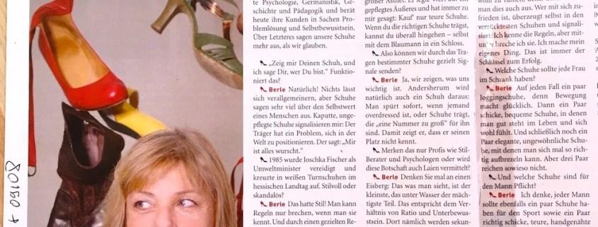 """alt=""""Was sagen Schuhe über Menschen, Coach Dr. Berle im Interview"""""""