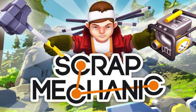 تحميل لعبة scrap mechanic