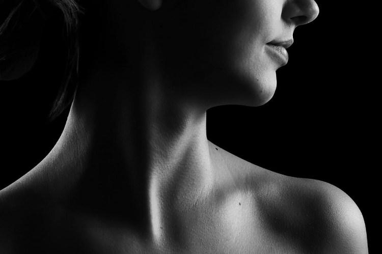 可是在脖子有較深的皺紋的話,怎麼辦?