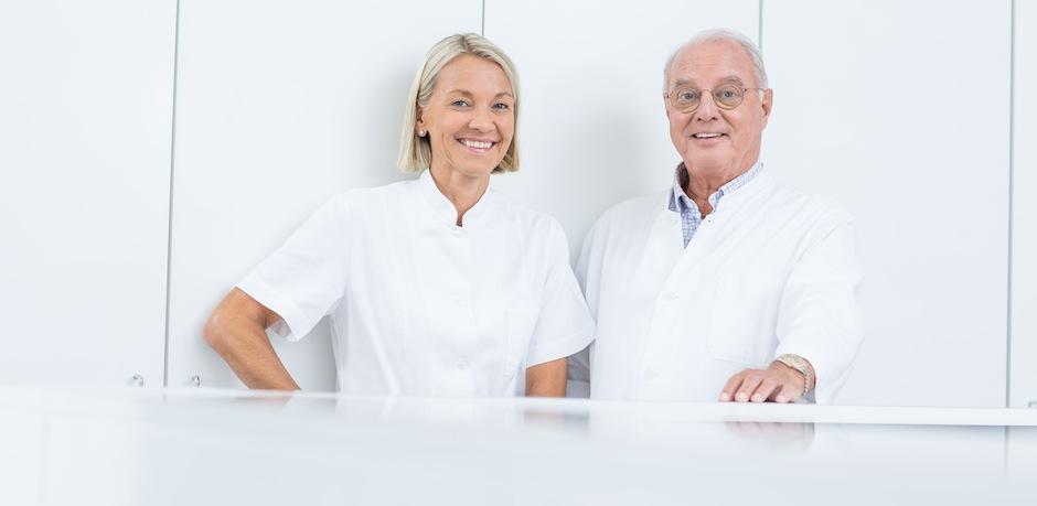 Dr. Claudia Mautner Markhof und Dr. Sven Leopold
