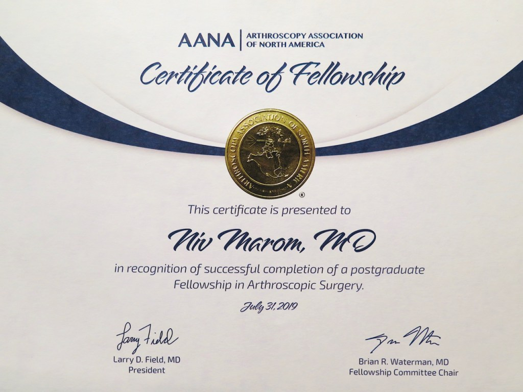 AANA fellowship