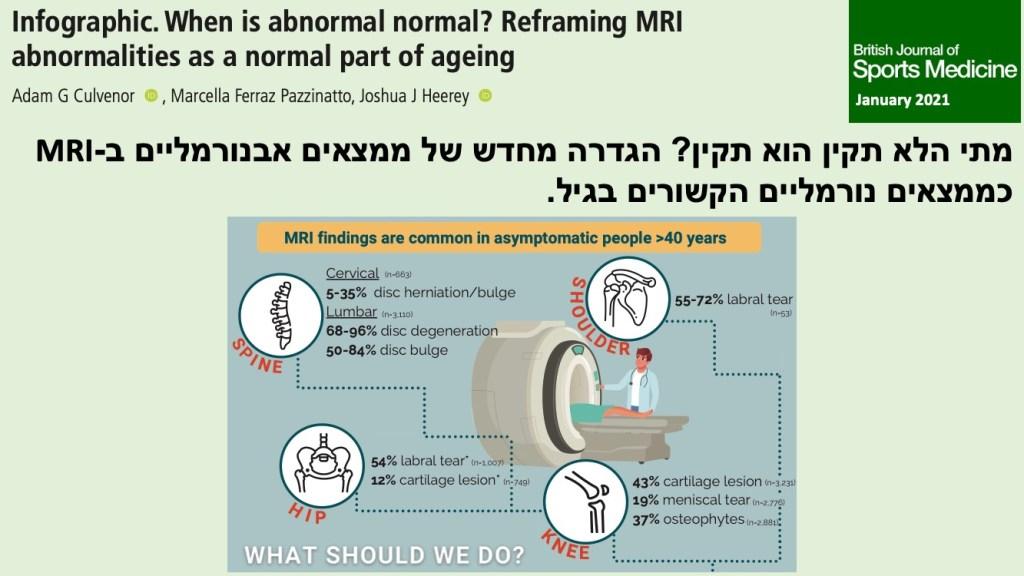 ממצאים MRI