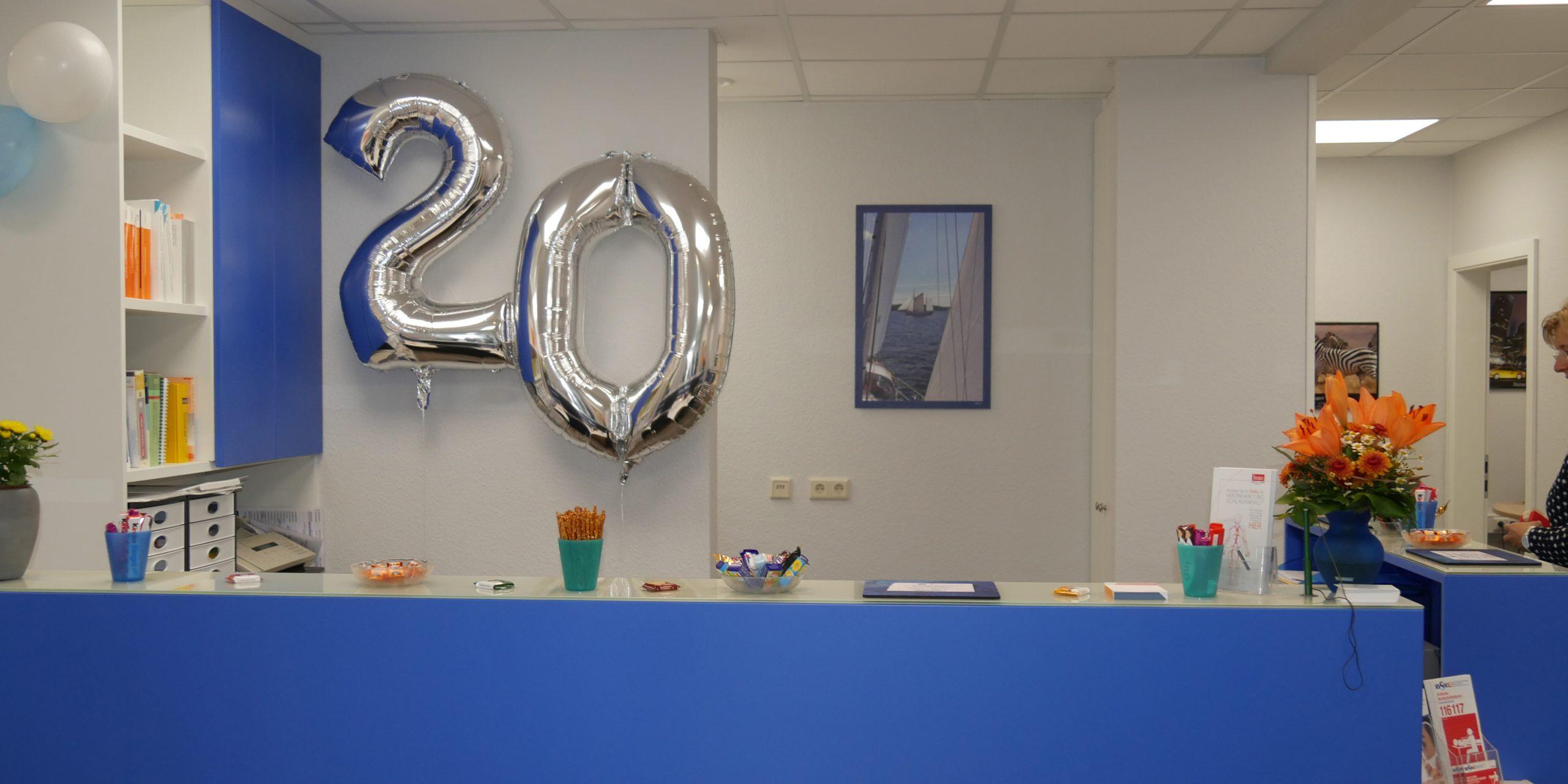 Im September 2017 fand das 20-jährige Jubiläum in den modernisierten Räumlichkeiten statt…