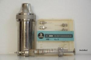 Injektionsset anno ca. 1960