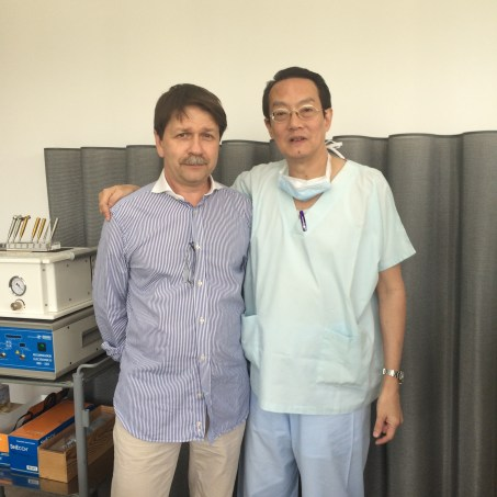 Hospitation bei Dr. Woffles Wu, Laser and Aesthetic Surgery Center, Camden Medical Centre, Singapur