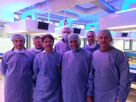 2013 Anatomische Kurs: Rhinoplastik mit Professor W.Gubisch Stuttgart-Tübingen