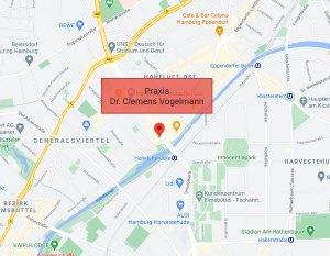 Anfahrt | Zahnarzt Hamburg Dr. Vogelmann