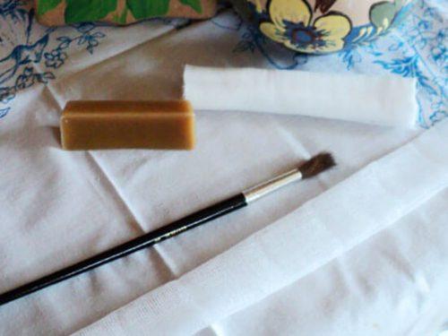 Необходимые материалы для изготовления фитосвечи для удаления серных пробок в ушах