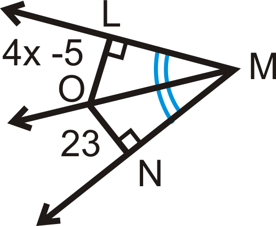 3. A \begin{align*} 100^\circ\end{align*} angle is