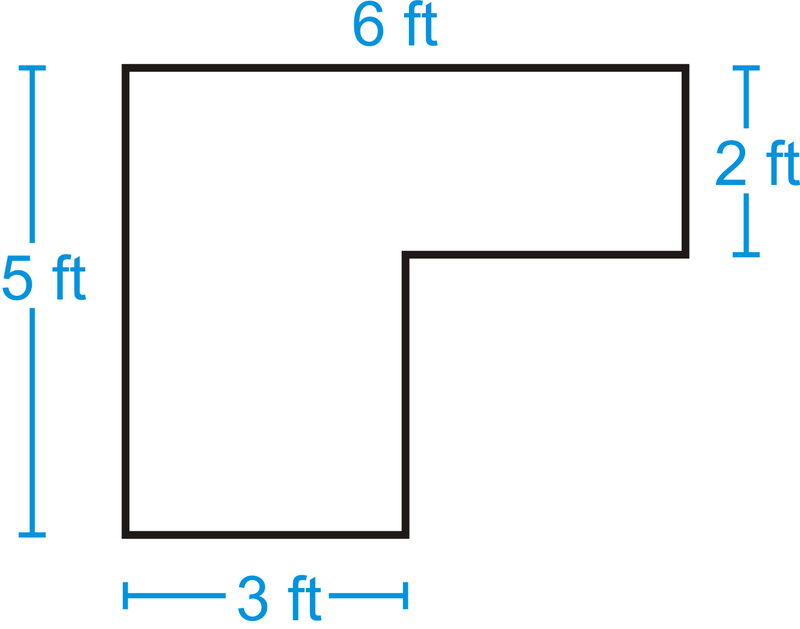 Area of Composite Shapes  Read   Geometry  CK12 Foundation