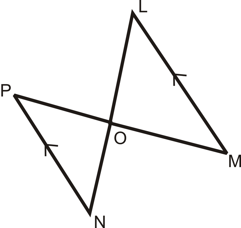 From the parallel lines, what angles are congruent? How do