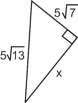 Lengths of Triangle Sides Using the Pythagorean Theorem