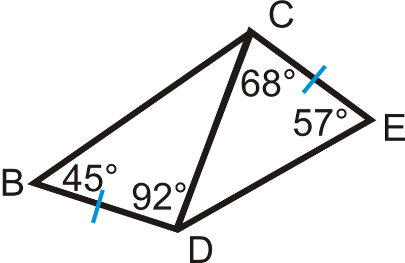 Comparing Angles and Sides in Triangles ( Read