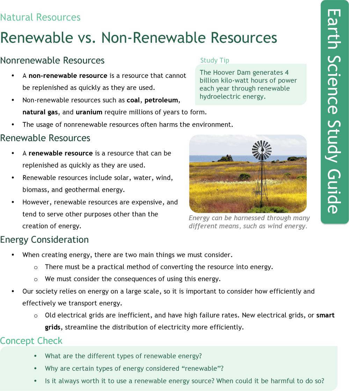 medium resolution of Renewable vs. Nonrenewable Energy Resources   CK-12 Foundation