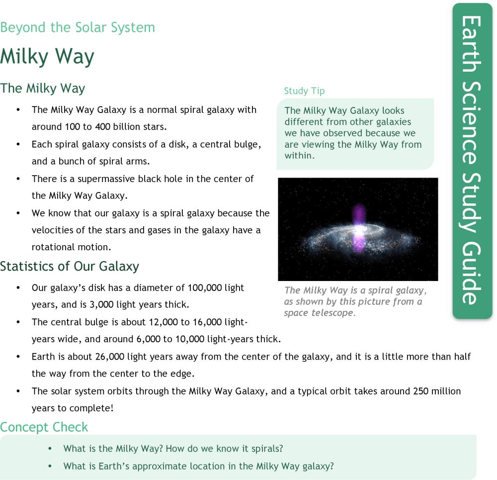medium resolution of The Milky Way   CK-12 Foundation