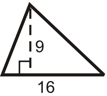 triangle kite isosceles trapezoid Find the area and