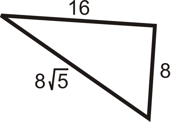 Pythagorean Theorem and Pythagorean Triples ( Read