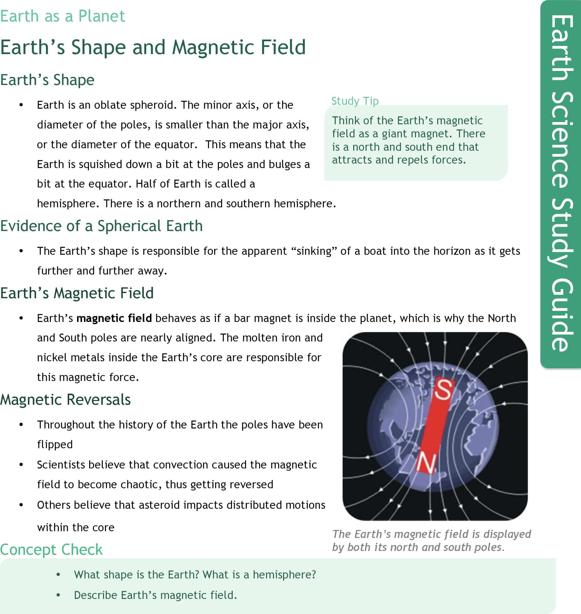 hight resolution of Earth's Magnetic Field   CK-12 Foundation