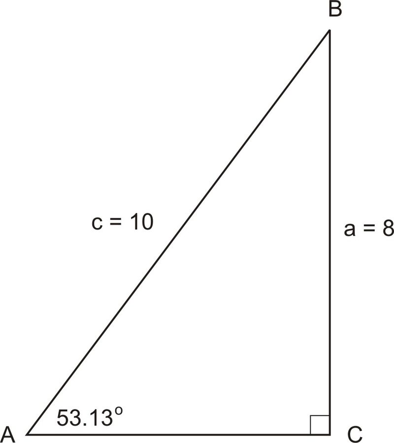 Pythagorean Theorem for Solving Right Triangles ( Read