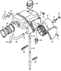 Suzuki DR650 Air Filter Page