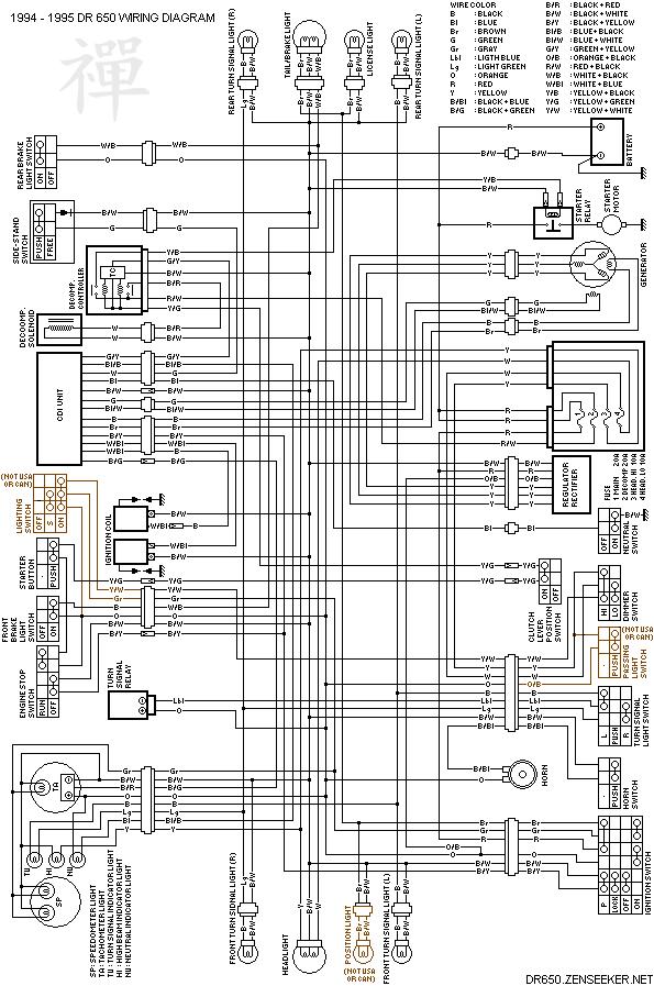 1996 Honda Accord Headlight Wiring Diagram Suzuki Dr650 Electrical Page