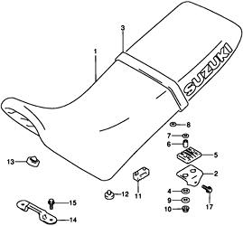 Suzuki DR650 Seat Page