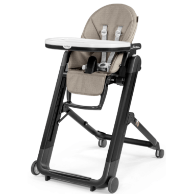 high chairs canada blow up for adults buy peg perego siesta chair ginger grey from at well ca free shipping