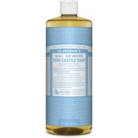 Dr. Bronner\'s Organic Pure Castile Liquid Soap Baby Unscented 32 Oz