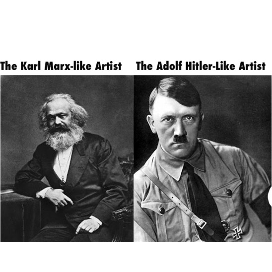 , EUROVISION 2019 Explains to us the ADOLF HITLER-LIKE ARTIST versa the KARL MARX-LIKE Artist