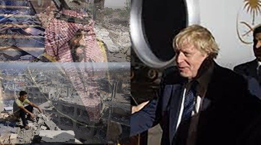 , A Dark Day for our world, A War Criminal and a Murderer, Boris Johnson, has Become the new Prime Minister of the U.K