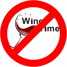 not wine time