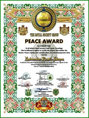 wcpm peace award ambassador renate iceality