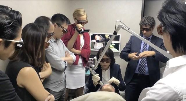 莊醫師用皮秒雷射治療痘疤很有名,這次到香港分享皮秒雷射做痘疤治療的經驗!惱人的肝斑交給585黃雷射就對了