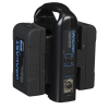 Dracast Two 14.8V 90Wh Gold-Mount Batteries with Dual Charger