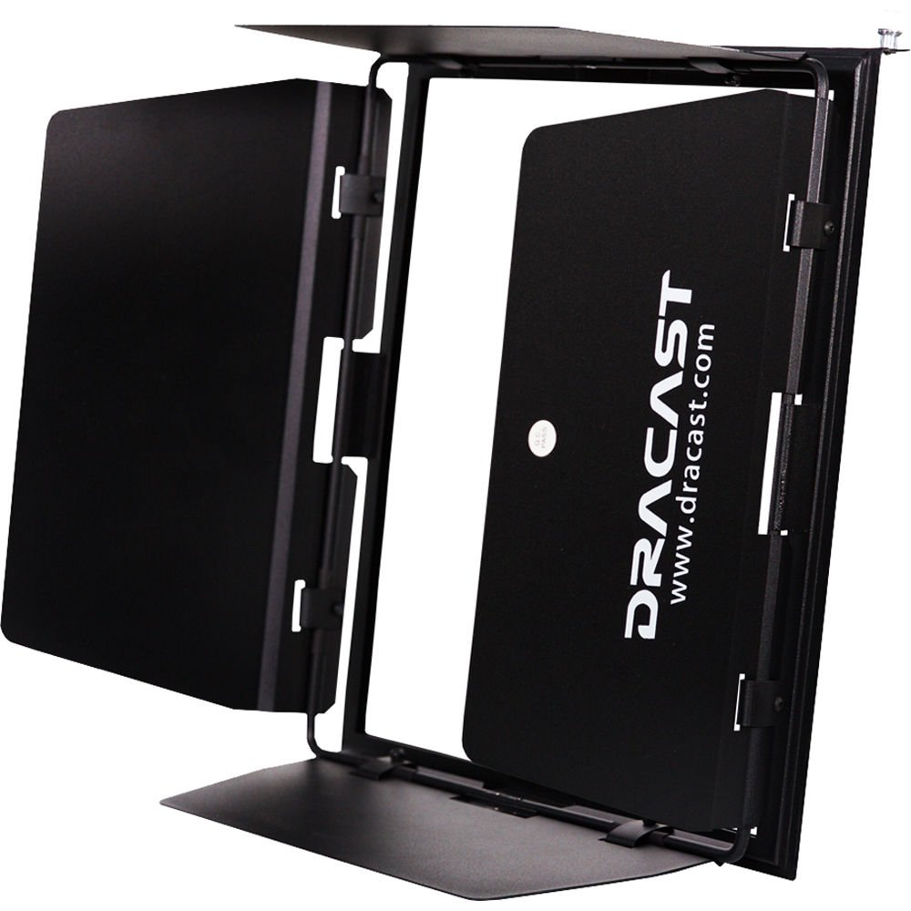 Dracast Plus Series Bi-Color 3-Light Portrait Kit with V-Mount and Gold Mount Battery Plates