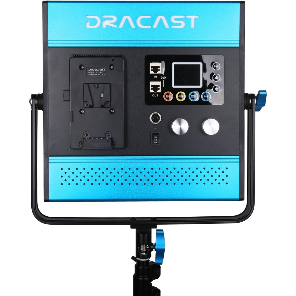 Dracast LED1000 Kala Bi-Color LED 3 Light Kit