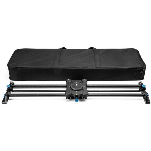 "A&J PRO Portable Parallax Camera Slider with Carbon Fiber Rail (31.5"")"