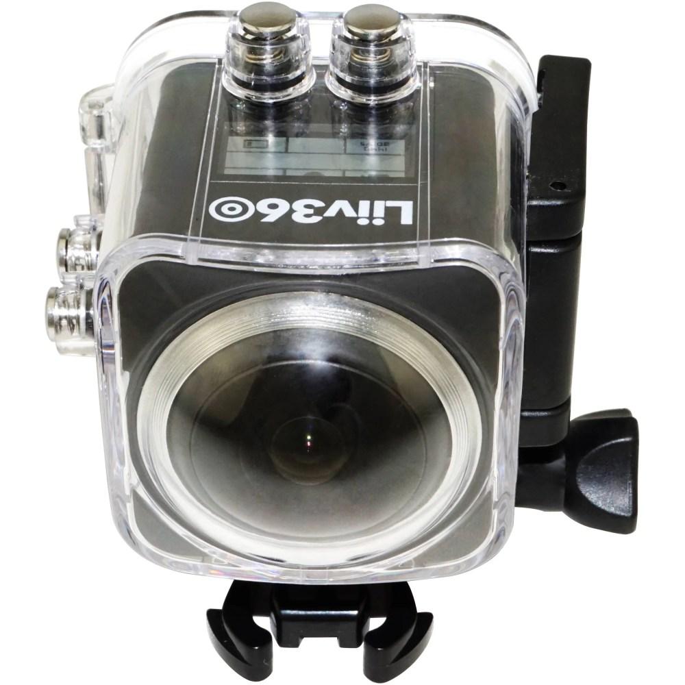 Liiv360 Action Waterproof Camera Black